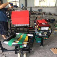 自动打捆青贮包膜机 陕西秸秆打捆包膜机厂家