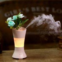 【热卖花仙子香薰机加湿器生日礼物七彩花仙子加湿器可定制LOGO