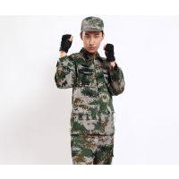湖南长沙批发学生军训迷彩服套装军训服户外拓展服海洋迷彩丛林迷彩服批发