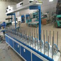 广西铝合金包覆机 异型材包覆机 凹凸板材包覆机专业生产厂家林木机械