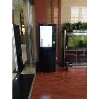 租赁排队叫号机,广告机,咖啡机,打印机,旋转式卧式竖屏广告机选购