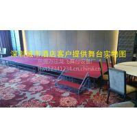 深圳惠州酒店宴厅大堂舞台制作安装找深圳金田舞台