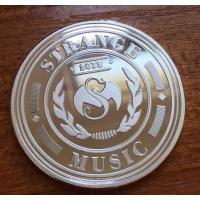 广州定制金属纪念章广州纯银纪念币制作厂家