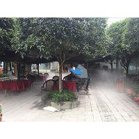 都江堰瑞锦湾花园餐厅喷雾降温项目,打造不一样的餐厅体验效果