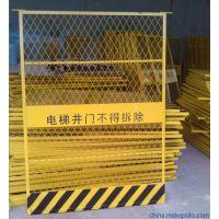 广东省hysw楼层喷塑防护网 安全电梯门 专业定制hy-240