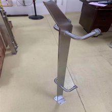 新云 量身定制 不锈钢304工程立柱 玻璃楼梯立柱 欢迎来图来样定制