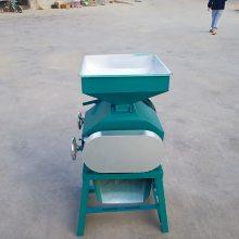 酿酒用对辊粮食挤扁破碎机 家用小型挤扁机 粮食专用挤扁机
