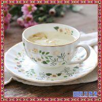 陶瓷咖啡杯家用下午茶陶瓷简约茶杯欧式咖啡杯茶杯