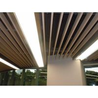 铝方通吊顶 广东铝方通厂家 北京木纹铝方通价格