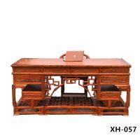 孟村古典老榆木办公台定制厂家