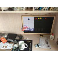 东莞挂式白板7南沙单面教学小黑板7企业磁性移动写字板