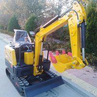 厂家直销森泰小型挖掘机 13型履带式挖掘机 沟槽回填全新液压小勾机