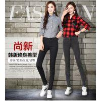 好看女装牛仔裤韩版百搭外贸库存服装厂家便宜批发几元钱