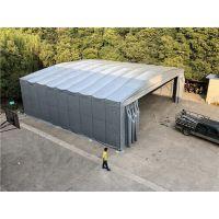 虹口区移动伸缩大型仓库雨棚厂家_布户外电动雨棚定做供应