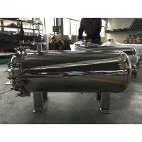 电厂专用 100T/H 4芯装40寸不锈钢大流量过滤器