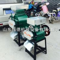 振德 杂粮挤扁机 对辊式电动压扁机 豆扁机 低价供应