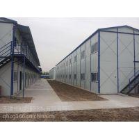 二手彩钢房 二手活动房 可回收岩棉板工地用彩钢房 祈虹彩钢板房