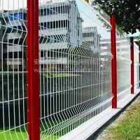 优质盘条护栏网 四周边框防护网 低碳公园防护网