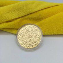 西安金币定制 银币加工 公司庆典纪念币设计开模及木盒订做