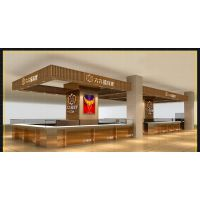 黄金珠宝柜台定制出商场店铺全套设计方案效果图施工图cad
