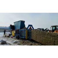 柴电双动力小麦秸秆打包机(造纸厂专用型)
