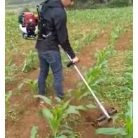 背负式除草机锄草机 厂家供应多功能二冲和四冲程松土机