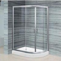 浩湟高端淋浴房整体浴室移动钢化玻璃隔断屏弧扇形TF-1007