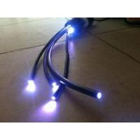 3mm内径外径5mm黑皮光纤,泳池光纤照明,草坪闪点尾部发光灯