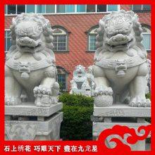 花岗岩献钱师 惠安绣球石狮子 寺庙景区神兽雕刻
