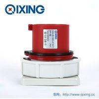 QIXING启星QX832 4芯 32A IP67高端型工业暗装插头 3C认证