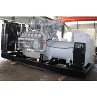 进口珀金斯1000KW柴油发电机组 大型工厂备用全铜无刷发电机