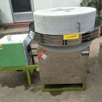 小麦加工电动石磨 家用小型杂粮面粉石磨机 批发商用电动面粉机