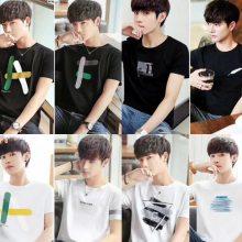 海南夏季T恤批发市场在哪里有的新款T恤大量现货便宜厂家直销货源新款T恤