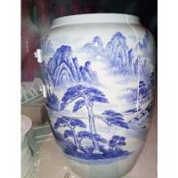 汗蒸养生缸 美容院活瓷能量瓮,巴马陶瓷养生缸圣菲养生瓮生产厂家