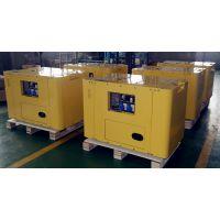 睿德R2V88双缸风冷柴油发电机组 10KW柴油发电机组 14HP静音单相带ATS