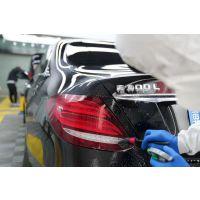 石家庄奔驰E300L贴XPEL隐形车衣漆面保护
