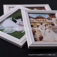 定制白色9个七寸组合儿童宝宝相片相框挂墙九宫格7寸照片墙影楼