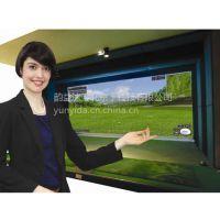YYD-E高速摄像高尔夫模拟器中拥有进的技术环境实现性能