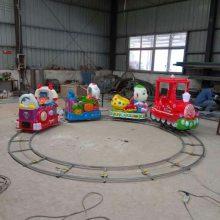 公园广场儿童游乐设备电动轨道小火车厂家供应