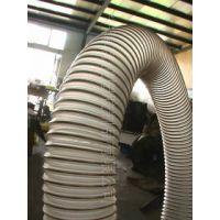 德州雨泽直销大口径工业耐磨吸尘软管 钢丝软管