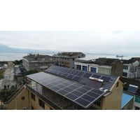 琪汐太阳能光伏配件组件承接3kw5kw及以上并网电站可以逆变成220v380v电压