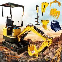 微型小型挖掘机履带挖掘机适用于果园农用园林绿化工程苗圃华泰重机