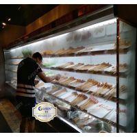 串串火锅菜品喷雾冷藏柜喷雾展示柜定做多少钱一米
