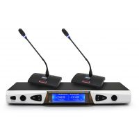 SYYP思音手持无线麦克风话筒KTV舞台智能感应光环双静音UR-8902