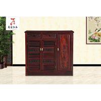红木鞋柜-实木鞋柜-古典中式家具-100*.36*105*黑酸枝