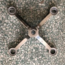 耀恒 160型不锈钢驳接爪 304钢建筑装修用紧固件 四爪图片
