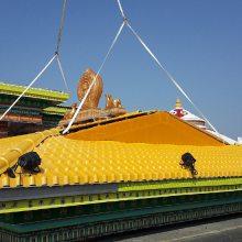 海南澄迈县合成树脂仿古屋面瓦,抗风隔热耐候塑料别墅瓦