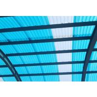 拉挤玻璃钢阳光瓦1mm玻璃纤维透明塑料瓦FRP采光瓦山东厂家