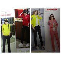 时尚休闲女装港仕迪18春装品牌折扣批发 库存尾货走份广州哪里有好的货源