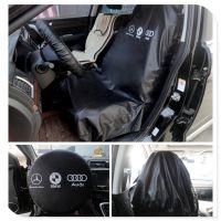汽车维修保养防护座套 修车三件套水洗皮座椅套方向盘套脚垫